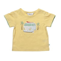 Bebe Gold T-Shirt with Kombi design