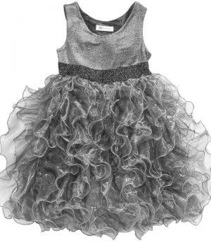 Bonnie Jean Silver Dress