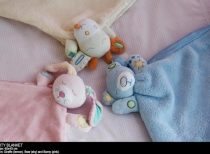 Bubba Blue Pink Security Blanket