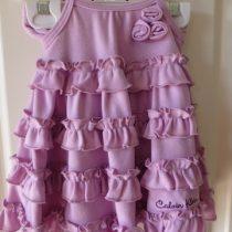 Calvin Klein Ruffled Dress
