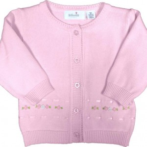 Cardigan Baby Girl Classic Layette