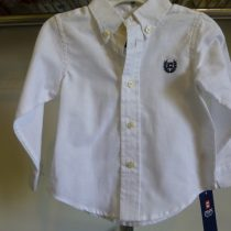 Chaps Boy's White Shirt
