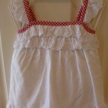 Chaps White Baby Girl's Dress