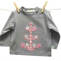 Cheeky Monkey 'High Tea' L/S T-Shirt