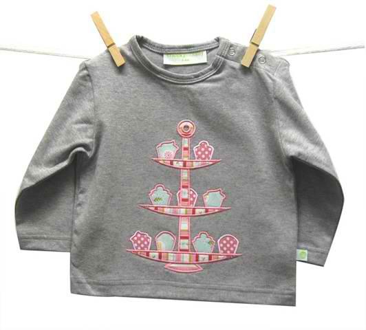 Cheeky Monkey 'High Tea' L/S T-Shirt