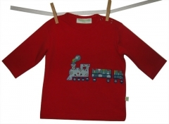 Cheeky Monkey 'Train' L/S T-Shirt