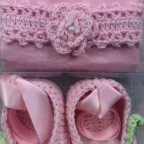 Crochet Headband & Booties