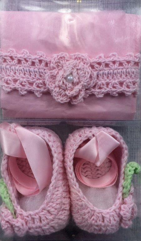 Crochet Headband & Booties