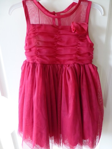 DKNY Pink Party Dress