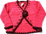 Eternal Creation -Crocheted bolero style cardigan