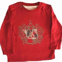 Fresh Baked Boys L/S Red Tee