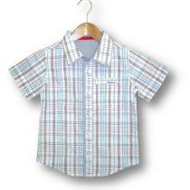 Fresh Baked check collared shirt