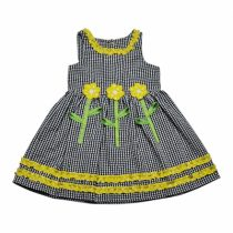 Girls Seersucker Dress