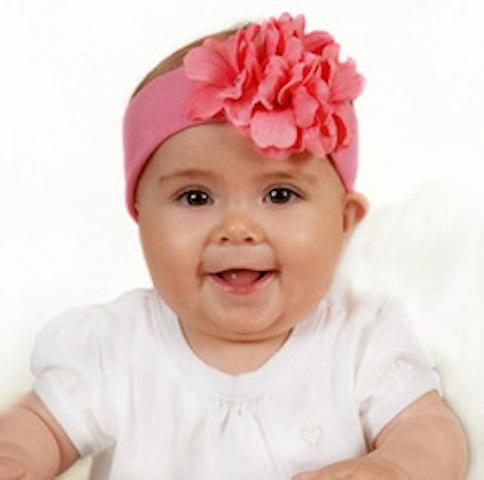 Jamie Rae geranium headband