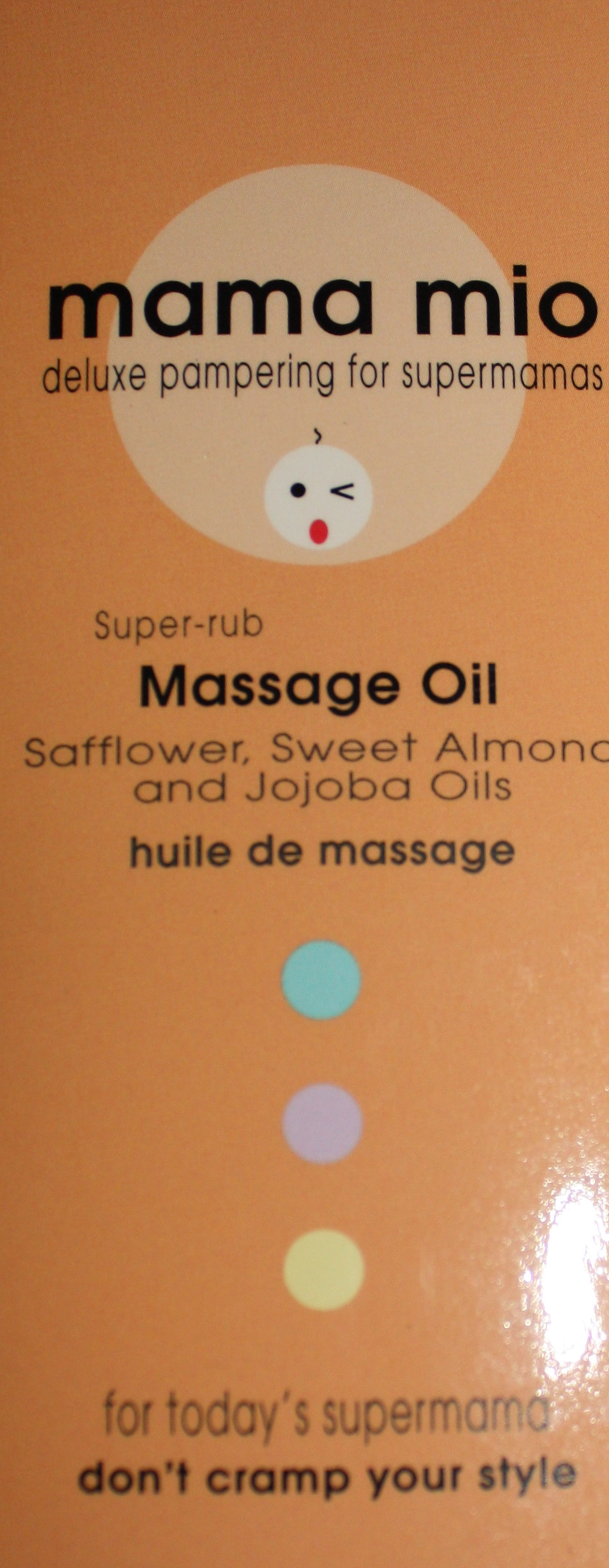 Mama Mio Massage Oil