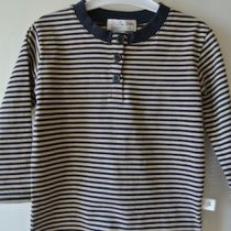 MiniFin Long Sleeve Striped Tee