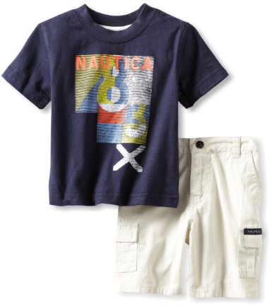 Nautica T Shirt and Shorts
