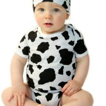 Noo 2 Piece Cow outfit