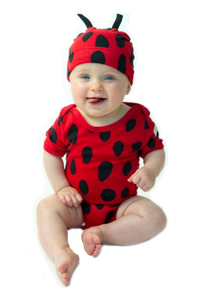 Noo 2 Piece Ladybug outfit