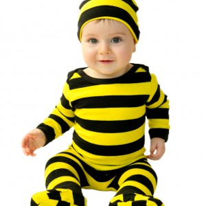 Noo 4 piece Bee Outfit