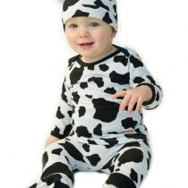 Noo 4 piece Cow outfit