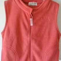 Pink Fleecy Vest by MiniFin