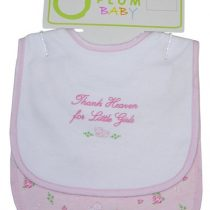 Plum Baby Bib Set