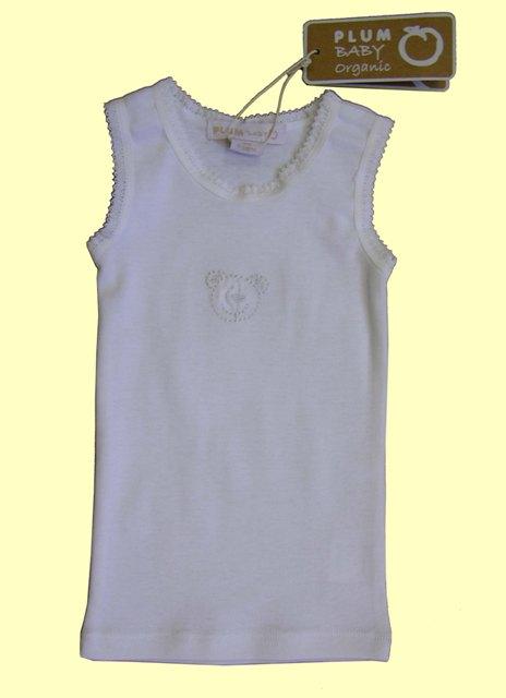 Plum Baby 'Organic' Vest