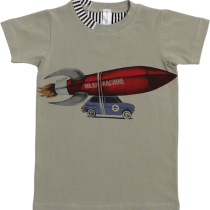 So Sooki Rocket on Car Tee