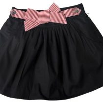 SoSooki Black Velvet Skirt