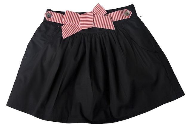 SoSooki Black Velvet Skirt
