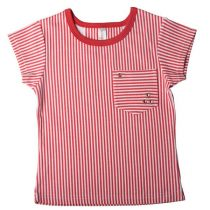 SoSooki Etsy Red and White Striped Tee