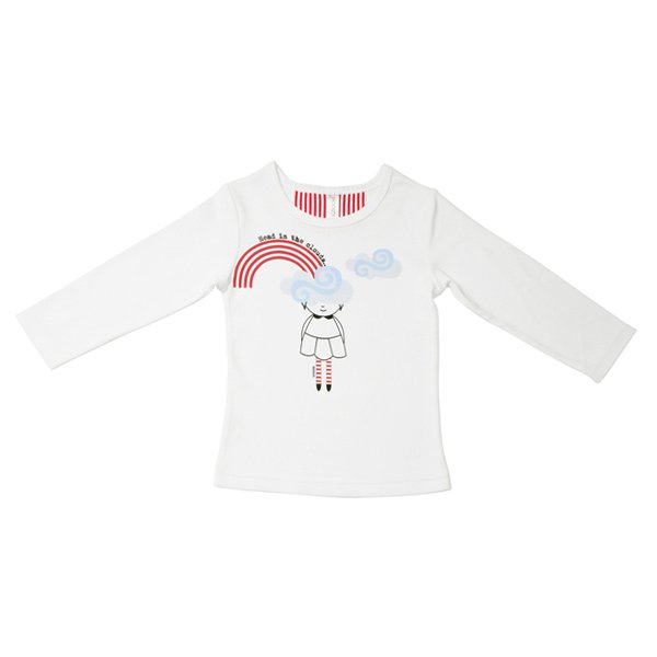 SoSooki Head In The Clouds LS Tee