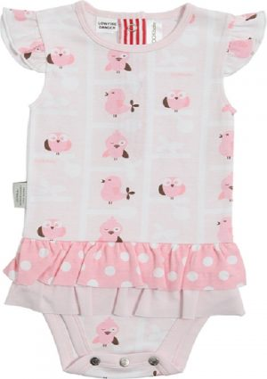 Sooki Baby A Birds View Frilly Skirt Snapon