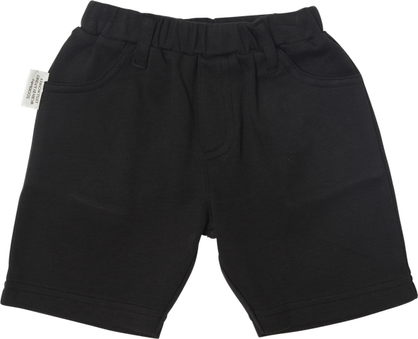 Sooki Baby Black Cotton Shorts