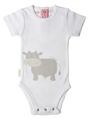 Sooki Baby Cow Snapsuit