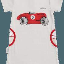 Sooki Baby I Heart Auto & Stripes Racer Playsuit