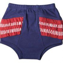 Sooki Baby Navy Nappy Pant With Ruffle