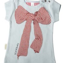 Sooki Baby Pale Green T-shirt With Large Bow