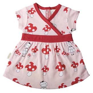 Sooki Baby Pink Mushroom Dress