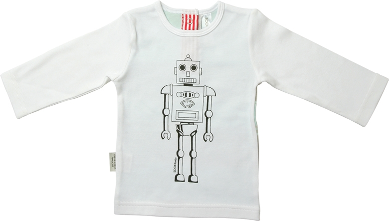 Sooki Baby 'Robot' L/S T-Shirt