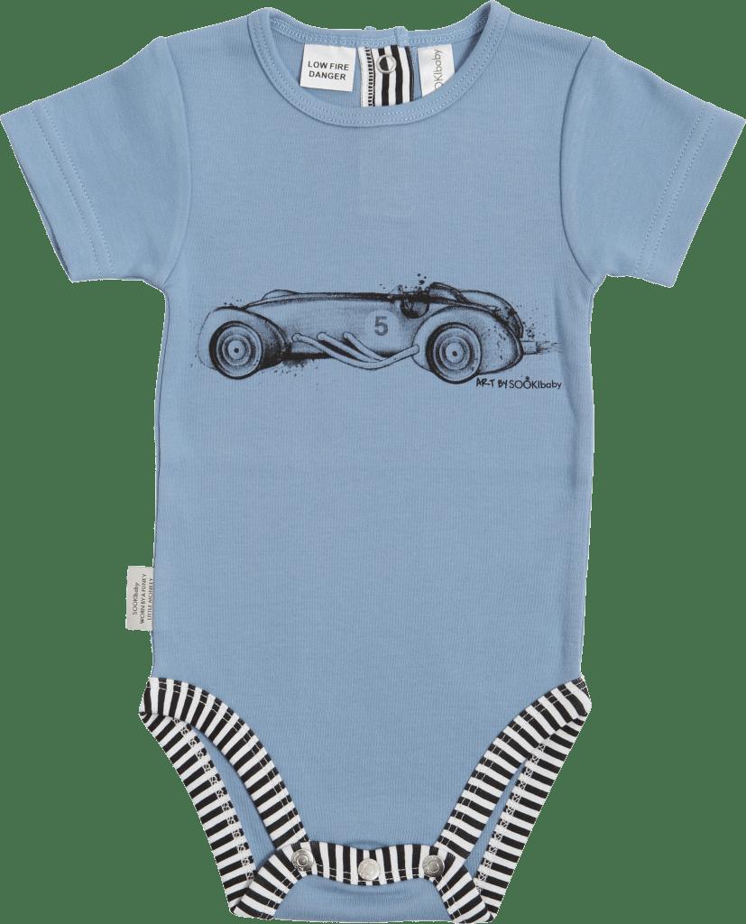 Sooki Baby Vintage Car Snapsuit