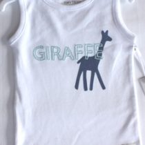 Tiny Tribe Giraffe Singlet