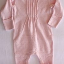 Tiny Tribe LS Pintuck Romper