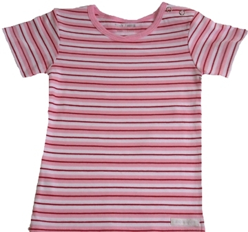 Tiny Tribe Striped T-Shirt red