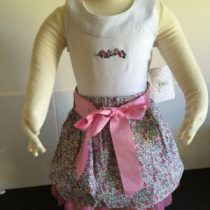 Top & Skirt Set Little Miss Lilac