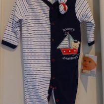 Vitamins Baby boy's Sleepsuit