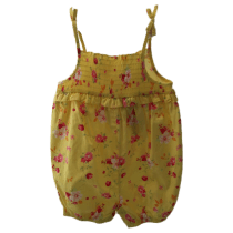 First Impressions: Yellow Sun Dress/Snapsuit