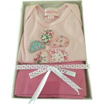 Albetta Pink 2 pce Tee and Pants