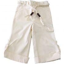 Fresh Baked Cream Girls Pants